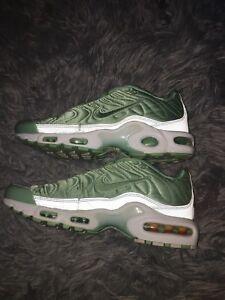 on sale 0eabf d43ed Image is loading Women-s-Nike-Tns-Mint-Green-Satin-US-