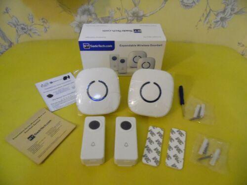 Sado Tech Wireless Doorbells Pack of Two Sets