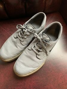 ff4052780b74 Nike SB Clutch Low Canvas Skateboard Men s Shoes Size 13 Grey