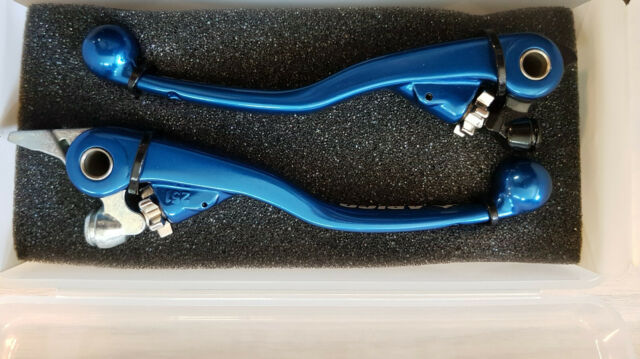 Zap Competition Klapphebelsatz Flexhebel Blau Yamaha YZ250F 450F 2014