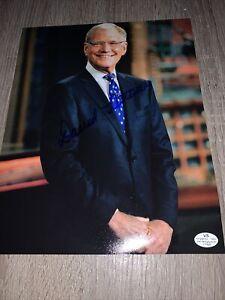 David-Letterman-Hand-Signed-Autographed-8x10-Photo-W-COA-Late-Show