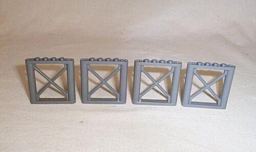 4 neu dk graue  LEGO®  Brückenpfeiler 1 x 6 x 5