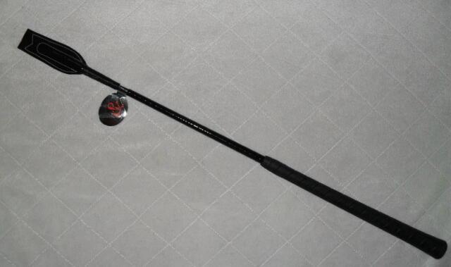 GERTE PEITSCHE WHIP /& GO Turniergerte  Reitgerte schwarz 63 cm lang NEU