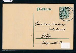 09518) Bahnpost Ovalstempel Friedrichroda-fröttstadt Train 568, Ga 1911-afficher Le Titre D'origine Forfaits à La Mode Et Attrayants