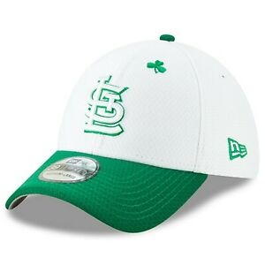 St. Louis Cardinals New Era 2019 St. Patrick s Day 39THIRTY Flex Hat ... 6cda47379de9
