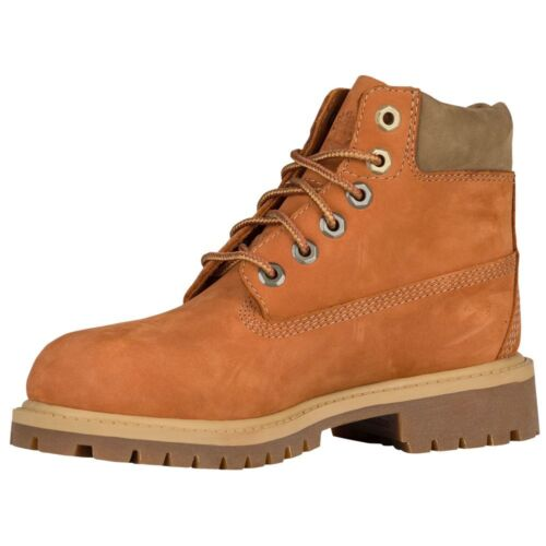 Timberland Junior/'s 6-Inch Waterproof  Boot  NEW AUTHENTIC Brown A1BB2D49
