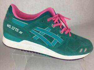 buy popular b4cc1 52758 Asics Gel Lyte III Tropical Green Mens Shoes Sz 12 H511L | eBay