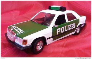 Burago 1:24 Code 0105 - Police Mercedes-Benz 190 E