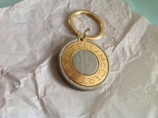 Brand New Unique Stella McCartney Keyring. Gold set on wood - made in Italy