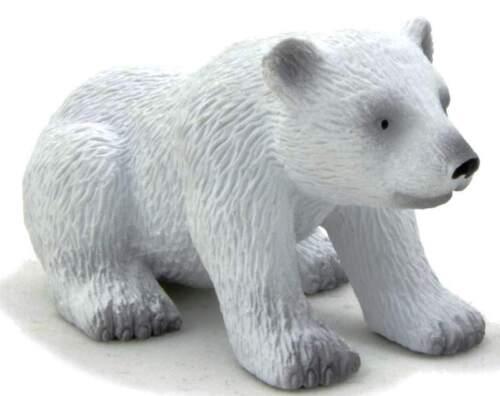 Eisbär Baby sitzend 6 cm Wildtiere Mojo 387021