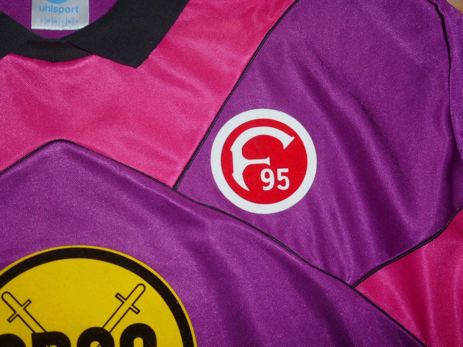 Uhlsport Torwart Torwart Torwart Trikot mit ARAG + Fortuna Logo in L guter Zustand für Sammler  | Fierce Kaufen  b1a78c