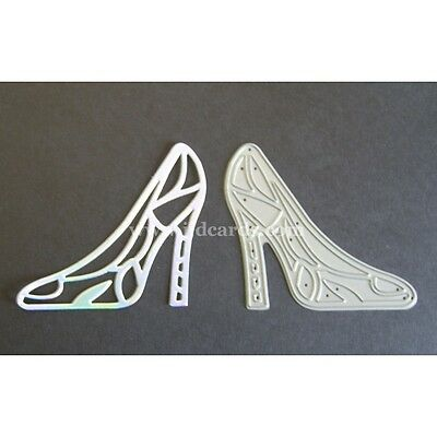 Britannia Dies - Filigree Shoe - Cardmaking and Scrapbooking