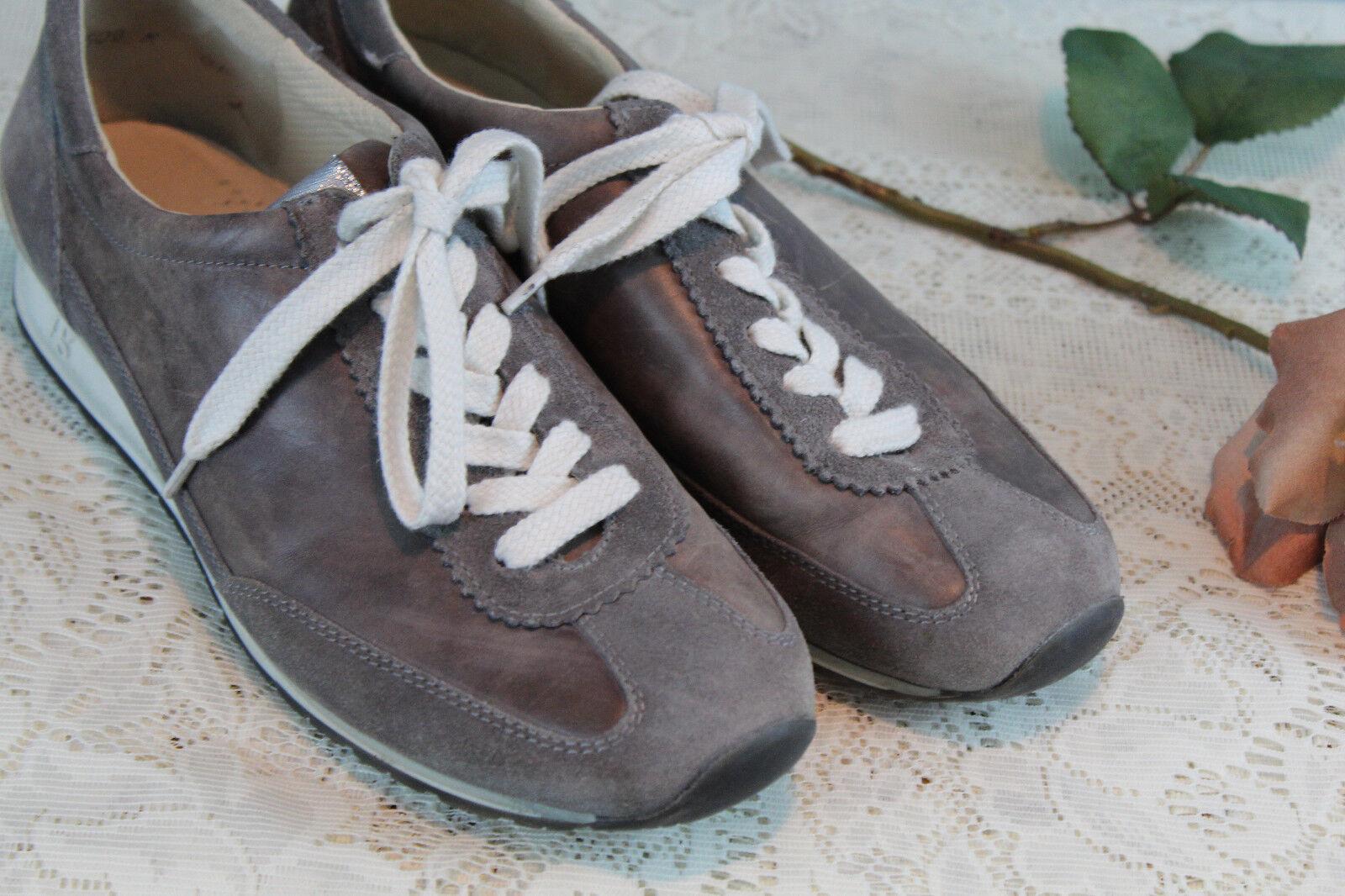 Paul verde-MUNCHEN gris Gamuza Cuero Con Cordones Casual Tenis Tenis Tenis Zapatos, Para Mujer 5  precios razonables