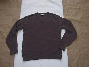 Vintage-Men-039-s-Christian-Dior-Escote-en-V-Pullover-Sueter-Talla-XL-Hecho-en-EE-UU