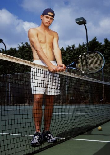 Art print POSTER CANVAS Tennis Player Andy Roddick