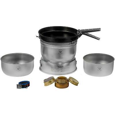 Utensilios para cocina de acampada con hervidor y quemador Spiritus, con revestimiento Trangia 25