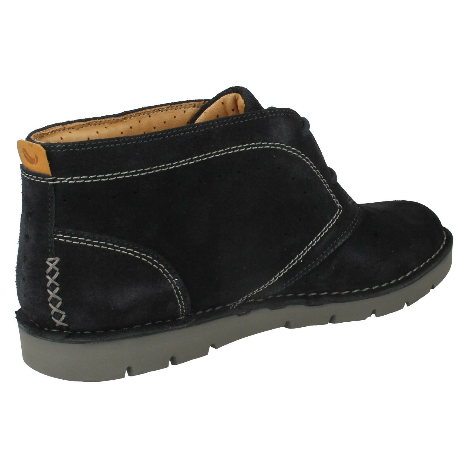 LADIES CLARKS UNSTRUCTUROT LEATHER CASUAL ANKLE DESERT Stiefel UN ASTIN SIZE SIZE ASTIN 3875ea