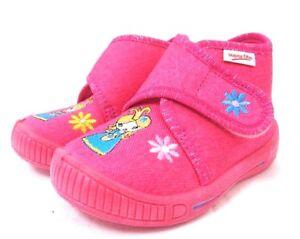 huge discount 95bc1 fccea Details zu Superfit Mädchen Baby Hausschuhe Lauflernschuhe pink Größe 20 21  24 Prinzessin