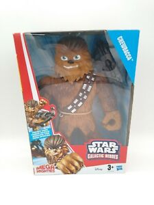 Star-Wars-Galactic-Heroes-MEGA-unuebertroffene-Chewbacca-10-INCH-ACTIONFIGUR