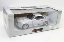 UT 1:18 Scale Mercedes SLK AMG 230 Silver DieCast 26151 Boot Doesn't Close Flush