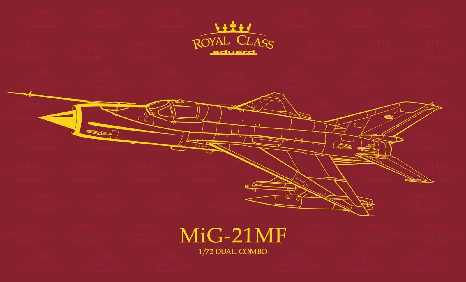 Eduard Royal Class R0017 1 72nd scale MiG-21MF Duel Combo with Fine Art Print