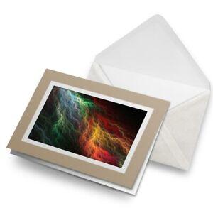 Greetings-Card-Biege-Awesome-Rainbow-Lightning-8883