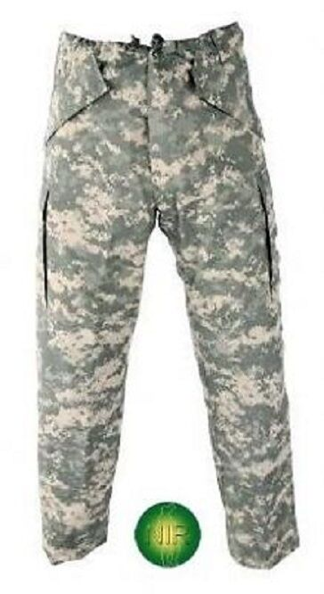 US Army UCP ACU Apcu VI Goretex Ultralite LIGHT Wight Pants Pantaloni ll LARGE LONG