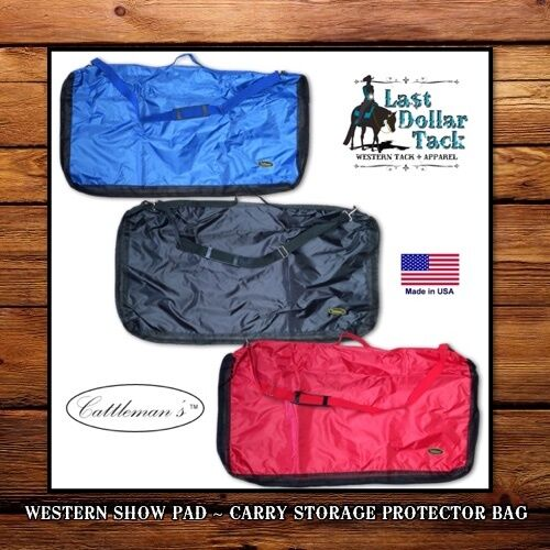 WESTERN SADDLE PAD  CARRY STORAGE PredECTER BAG