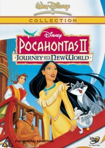 1 of 1 - Disney POCAHONTAS 2 - Journey To A New World (DVD, 2002) NEW & SEALED