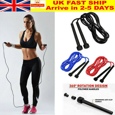 Speed Jump Rope Boxing Skiping Crossfit Weight Loss Exercise Girls Fitness 3m