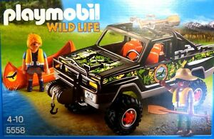 Dschungel PLAYMOBIL 5558 Wild Life Abenteuer Pickup Neu OVP Playmobil