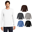 District-Made-Mens-Long-Sleeve-T-Shirt-Perfect-Weight-Ring-Spun-Cotton-Tee-DT105 thumbnail 1