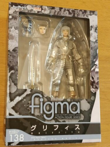 NEW AND SEALED BERSERK GRIFFITH FIGMA FIGURE