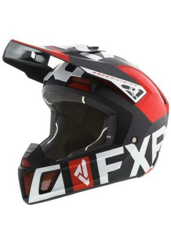 Red//Black//White M SNOWMOBILE NEW 2020 FXR CLUTCH EVO HELMET L- 2XL