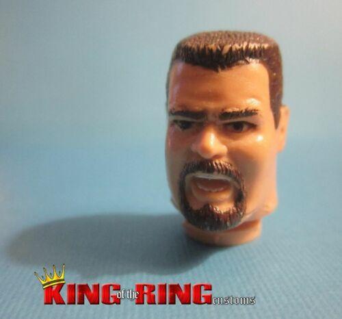 WWF Hasbro BIG BOSSMAN #2 Wrestling Figure HEAD Accessories Custom Fodder WWE
