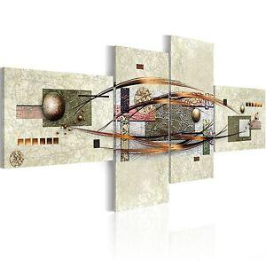 Wandbilder xxl abstrakt leinwand bilder 4 teilig for Wandbilder wohnzimmer abstrakt