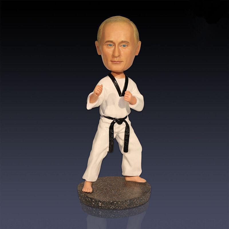 President Vladimir Putin Taekwondo Colofony hantverk Hem Decorations Action Fig