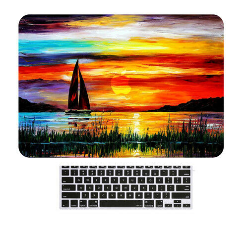 "For Macbook Air Pro 13.3/"" 15/"" Retina 2018 Laptop Hard Shell Covers Keyboard Skin"