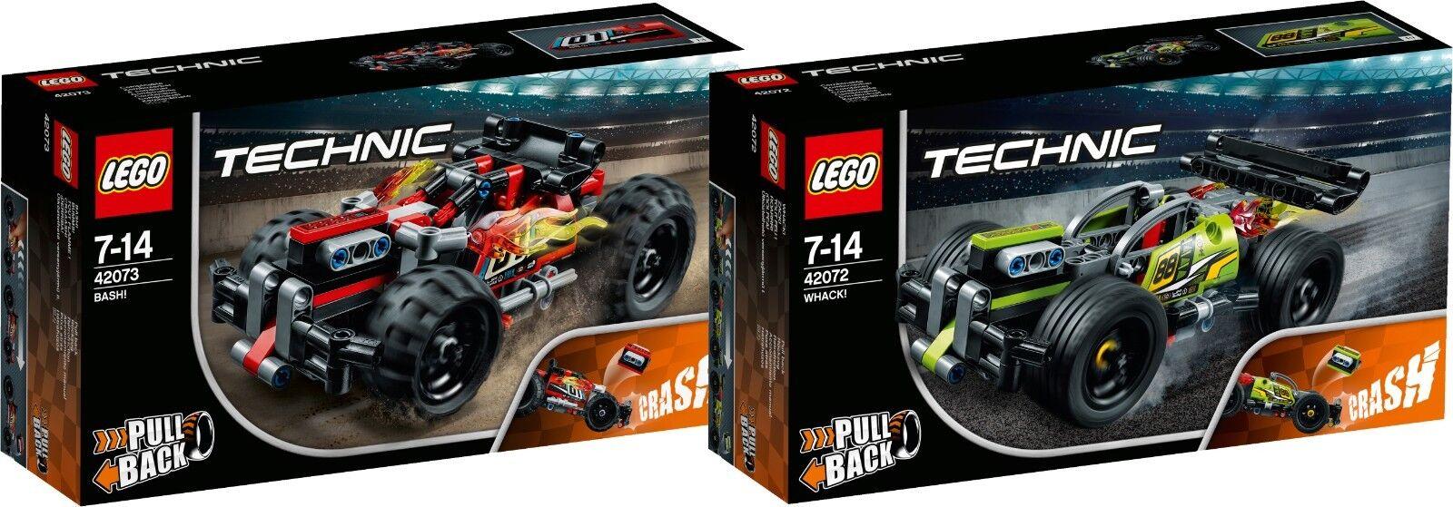 LEGO Technic 42073  + 42072 Z  TOUT FLAMME   BASH  ACK  TOUT FEU   WHACK  N1 18