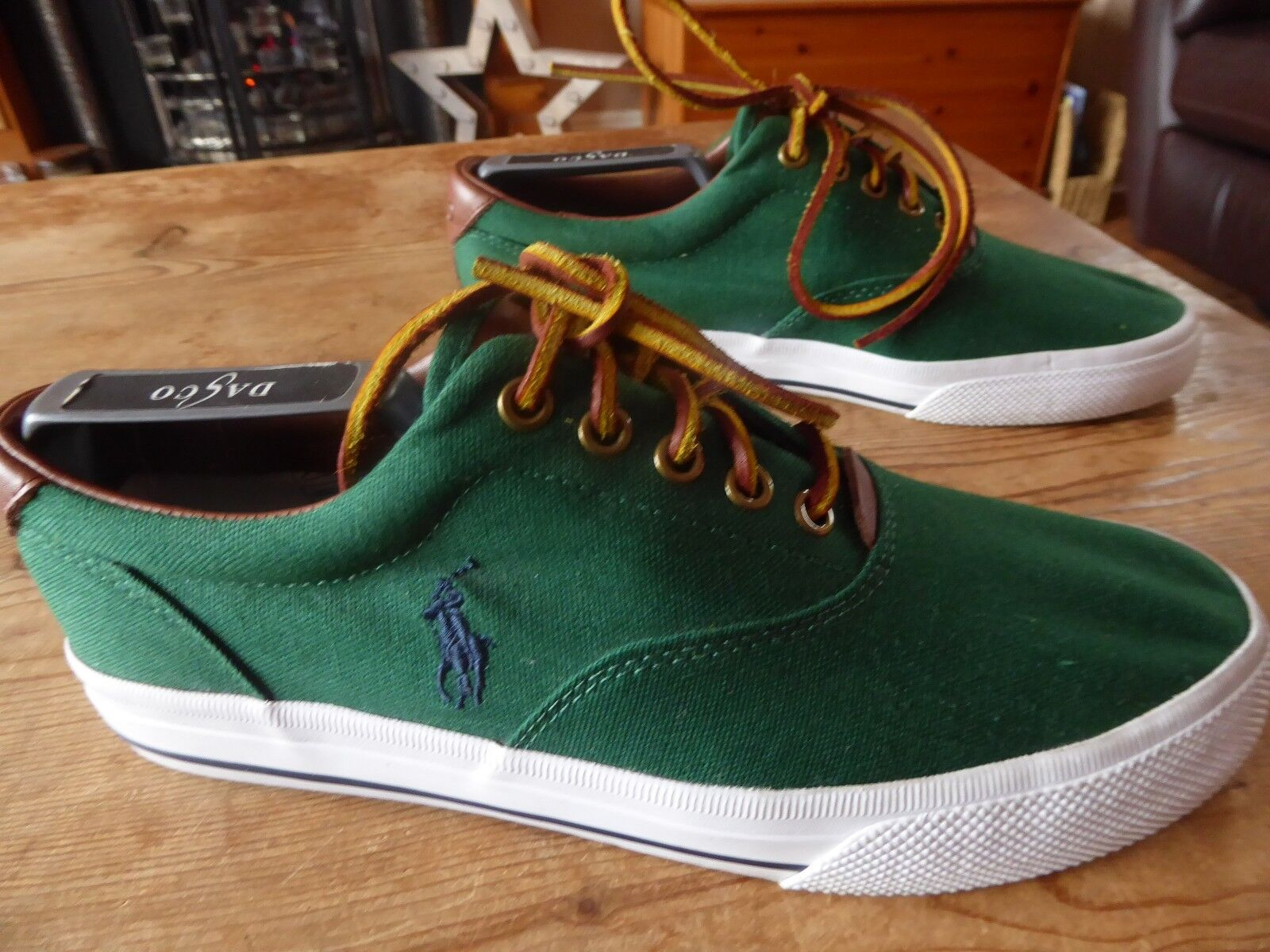 Mens RALPH LAUREN polo trainers - size uk 7 great condition