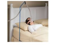 Cpap Hose Holder, Sturdy Iron Pole Secures Under Mattress To Hold Cpap Hose