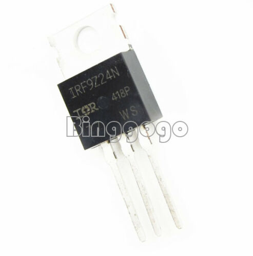5 PCS IRF9Z24NPBF IRF9Z24N MOSFET P-CH 55V 12A TO-220