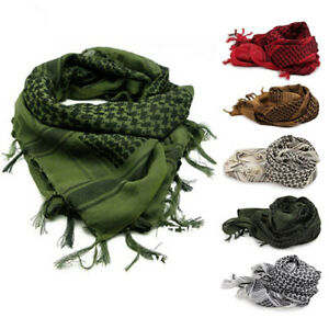 Military-Shemagh-Arab-Tactical-Desert-Shemagh-KeffIyeh-Scarf-Shawl-Wrap-Newly