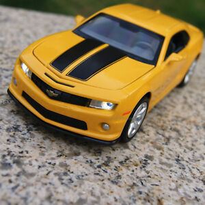 Chevrolet Camaro 1 32 Model Cars Sound Light Toys Gifts Alloy