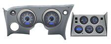 1968-1977 Corvette Carbon Fiber & Blue Dakota Digital VHX Analog Gauge Kit