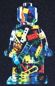 ORIGINAL PRINT LEGO ALESSANDRO PIANO SERIGRAFIA  BRICKS 76 COLLEZIONE DI LUSSO