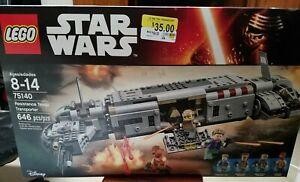 New in Sealed Box Star Wars Lego Resistance Troop Transporter 75140