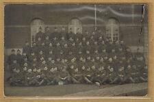 Cpa Militaria Carte Photo 3e régiment d'infanterie belge m0302