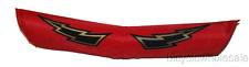 BMX Old School V-Bar Handlebar Pad / Red With Bolts NEW!