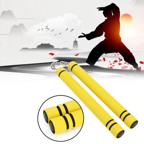 Karate Martial Arts Safety Foam Nunchakus Nunchucks Stick Training Fitness